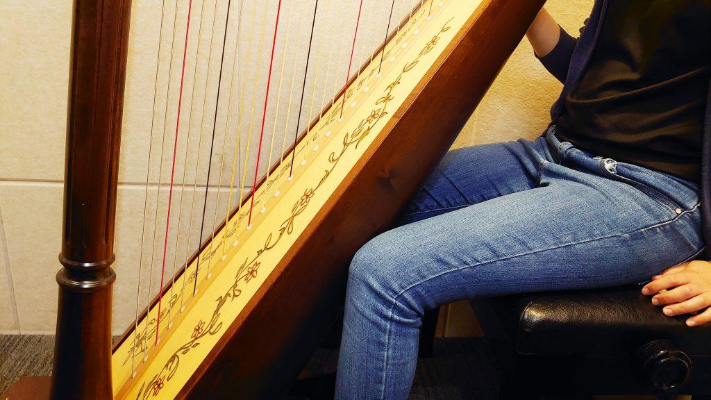 正確的豎琴指法 最怕練傷手 受惠一生音樂修養 #學豎琴 #豎琴課程 #豎琴老師 3