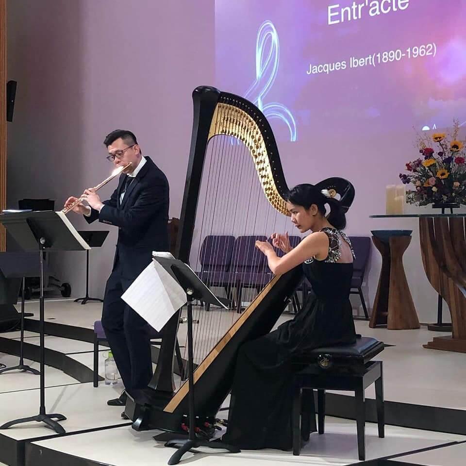Performance 豎琴考試 老師演奏 (ABRSM) 2